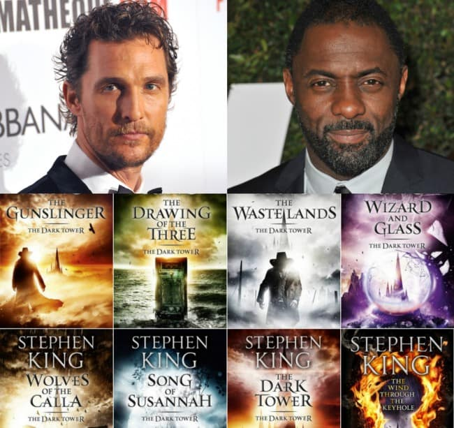 The Dark Tower avec Idris Elba et Matthew McConaughey