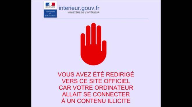 Un site bloqué par la CNIL - capture d'écran YouTube