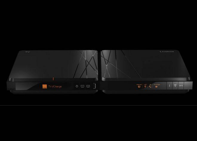 La Nouvelle Livebox d'Orange - capture d'écran du site d'Orange