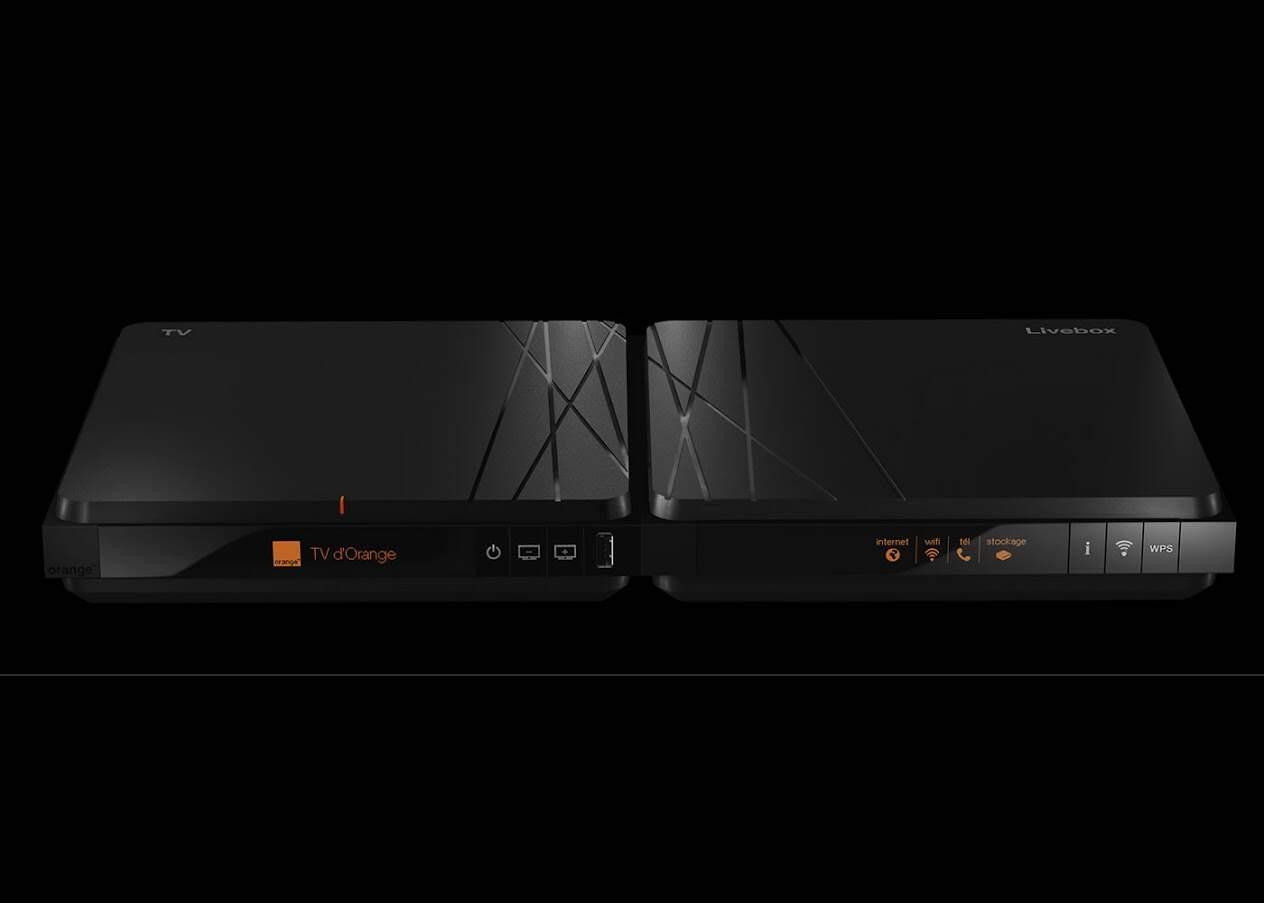 orange d voile sa nouvelle livebox et ses tarifs. Black Bedroom Furniture Sets. Home Design Ideas