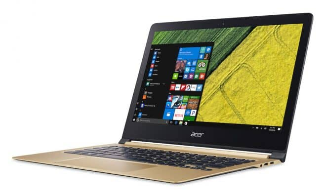 Le nouvel Acer Swift 7.