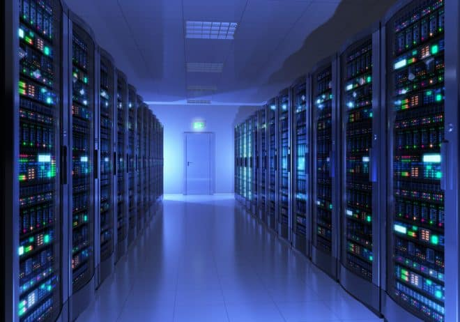 Illustration. Un data center.