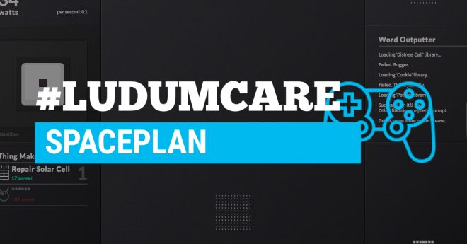 #LudumCare Spaceplan