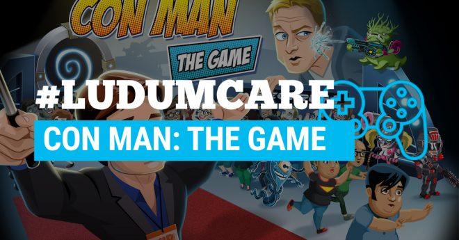 #LudumCare Con Man: The Game