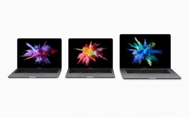 Les nouveaux MacBook Pro