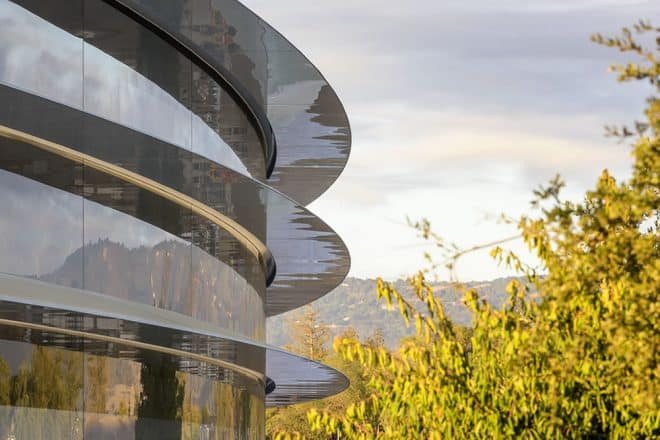 Le Apple Park à Cupertino.