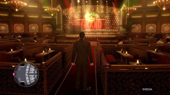 Le Grand, cabaret de Majima