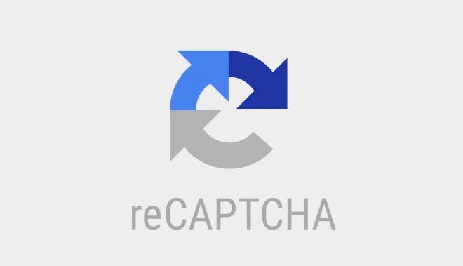 Le symbole reCAPTCHA. Image d'illustration.