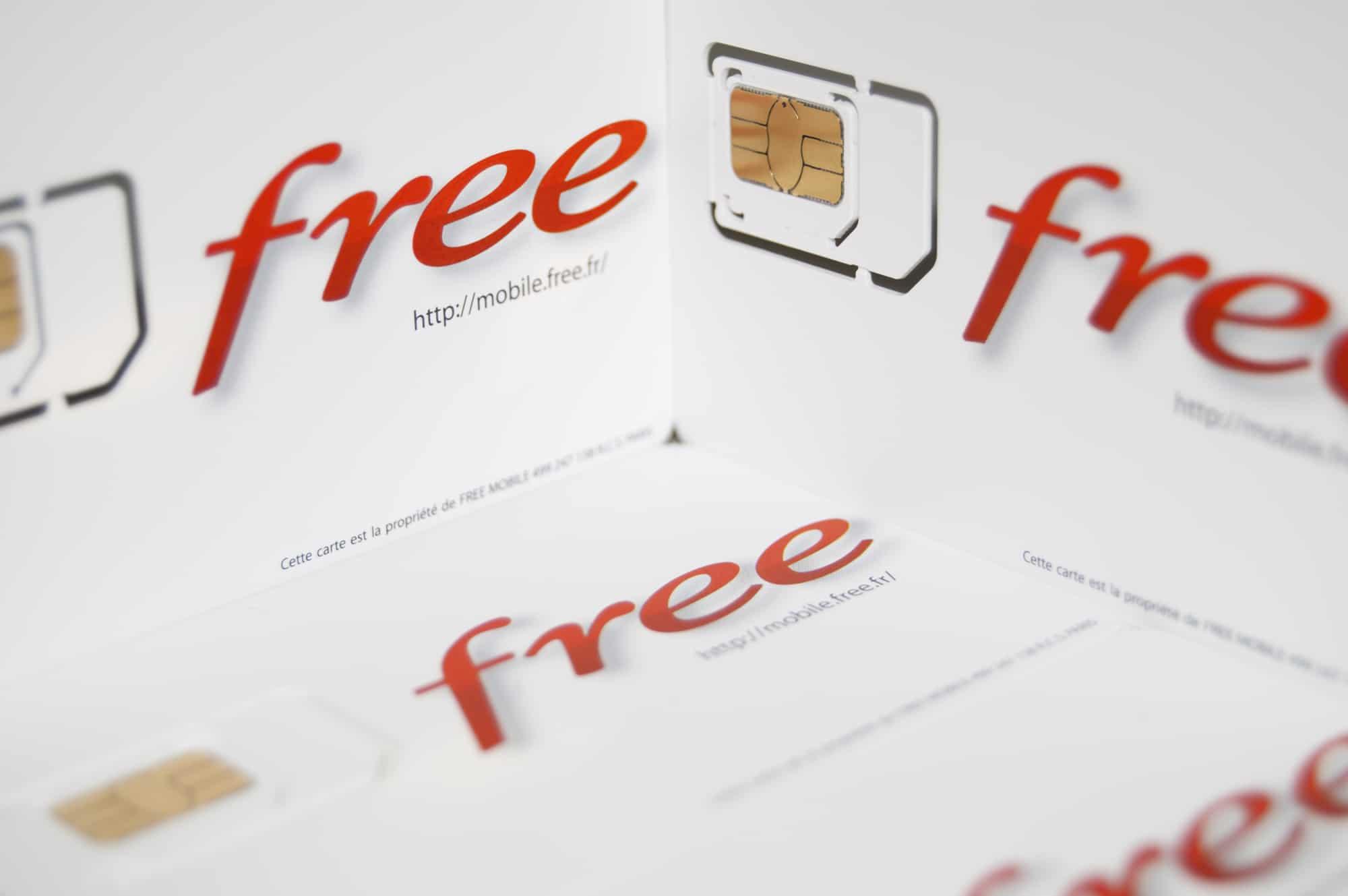 Les clients Free résilient massivement leur abonnement par rapport à la concurrence