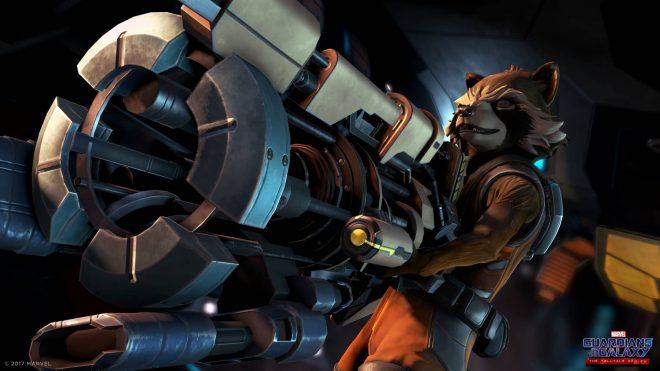 Une image du jeu Les Gardiens de la Galaxie, édité par Telltale