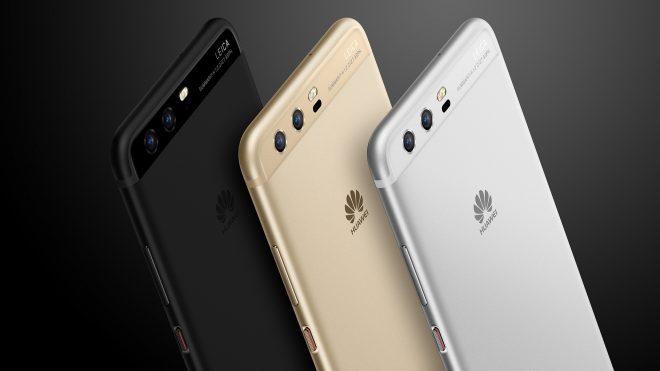 Les différents coloris du Huawei P10