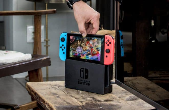 La Nintendo Switch.