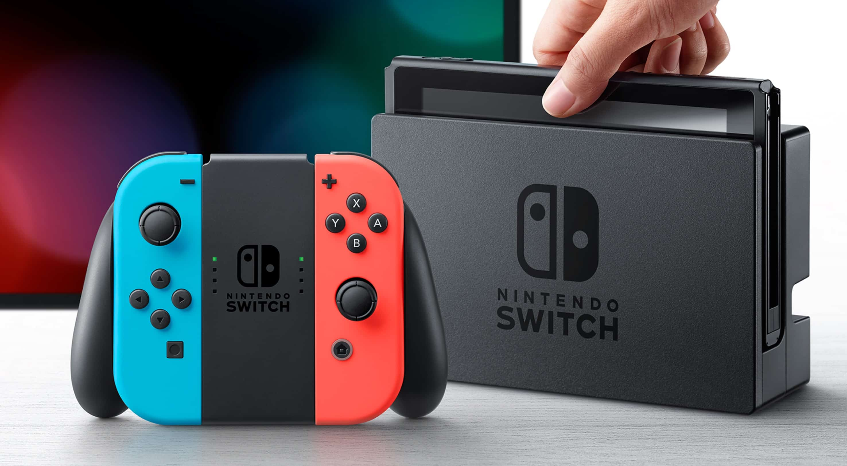 nintendo switch o l 39 acheter au meilleur prix. Black Bedroom Furniture Sets. Home Design Ideas