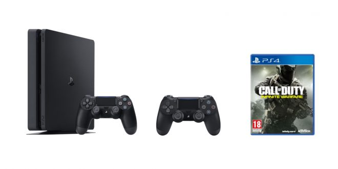 Un pack ps4 slim 2 me manette call of duty infinite warfare 299 euros - Ps4 pro boulanger ...