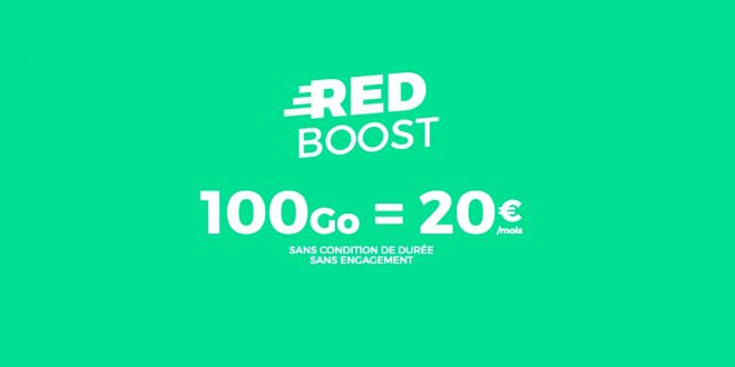Le forfait RED Boost