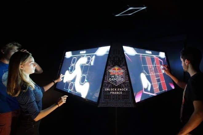 Red Bull Mind Gamers annoncenla première finale du championnat du monde d'escape game.