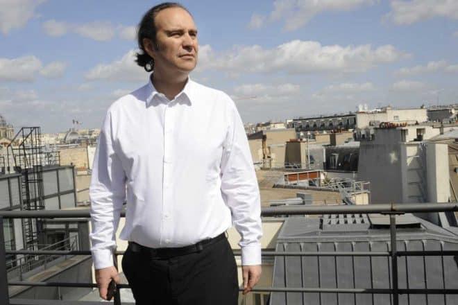 Xavier Niel, dans les bureaux de Free à Paris le 18 avril 2013.