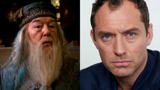 Jude Law sera Dumbledore jeune dans Les Animaux Fantastiques 2