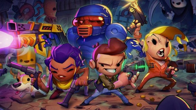 Enter the Gungeon est disponible sur Xbox One et Windows 10.