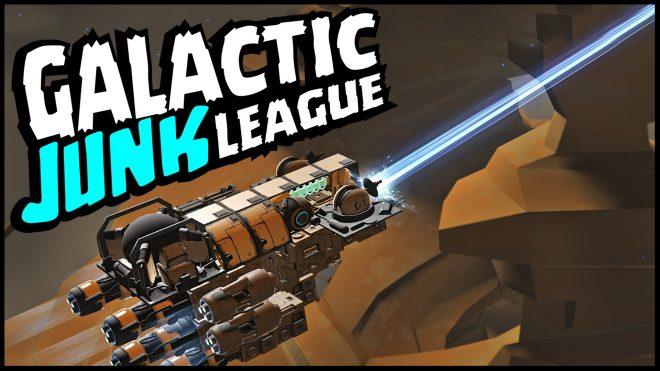 Une première mise à jour pour Galactic Junk League.