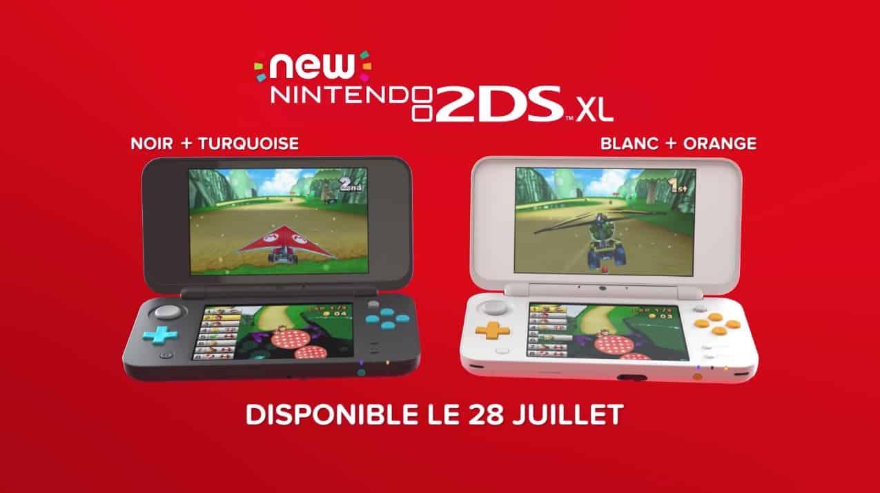 New Nintendo 2DS XL : une nouvelle venue chez Big N cet été