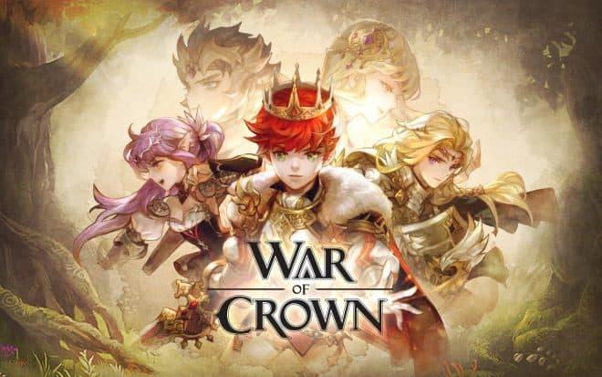War of Crown débarque sur iOS et Android.