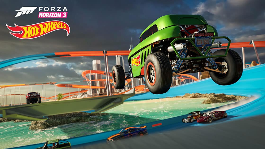 forza horizon 3 entre extension hot wheels et grosse mise jour pc. Black Bedroom Furniture Sets. Home Design Ideas