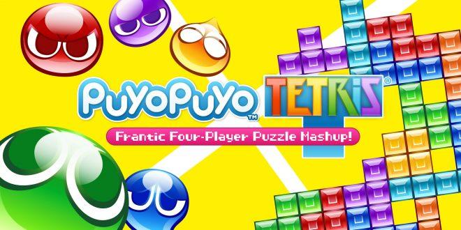 Un trailer de lancement pour Puyo Puyo Tetris.