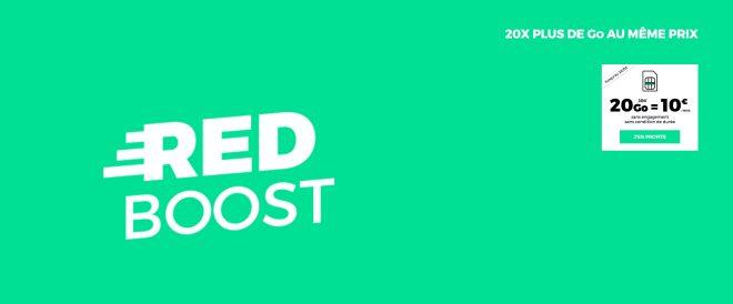 Sans changer ni le prix, ni la durée de son forfait RED Boost,RED by SFR multiplie les données mobiles chargées avec le forfait. Les données mobiles en masse Jusqu'au lundi22mai, RED by SFR propose, uniquement aux nouveau clients, son forfait 1 Go revu augmentéen forfait 20 Go. On retrouve lesappels illimités vers les mobiles de […]