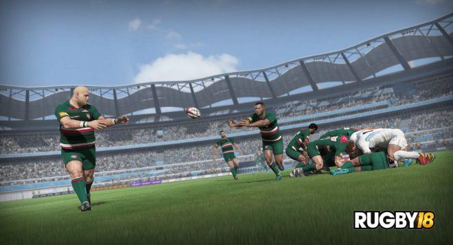 Rugby 18 est annoncé sur PS4, Xbox One et PC pour le mois d'octobre prochain.