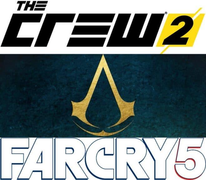 Far Cry 5, The Crew 2 et un nouveau Assassin's Creed pour l'année fiscale 2017
