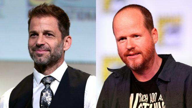 Zack Snyder et Joss Whedon