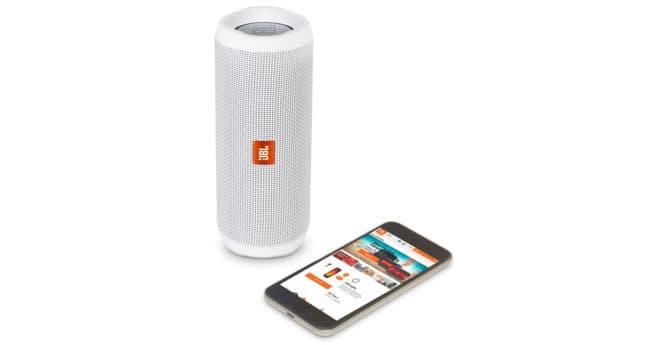 jbl flip 4 la puissante enceinte portable sans fil 79 seulement. Black Bedroom Furniture Sets. Home Design Ideas