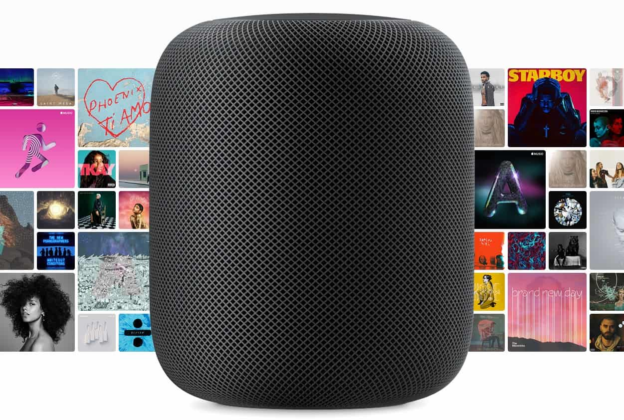 wwdc 2017 apple d voile homepod une enceinte connect e maison. Black Bedroom Furniture Sets. Home Design Ideas