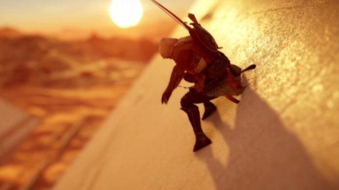 Assassin's Creed Origins s'est montré à l'E3 2017 durant la conférence de Microsoft.