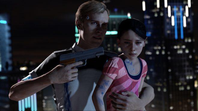 Detroit Become Human sera disponible sur PS4 en 2018.