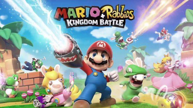 Mario + Rabbids Kingdom Battle se dévoile à l'E3 2017.