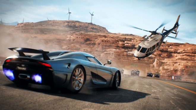 Du gameplay pour Need for Speed Payback à l'E3 2017.