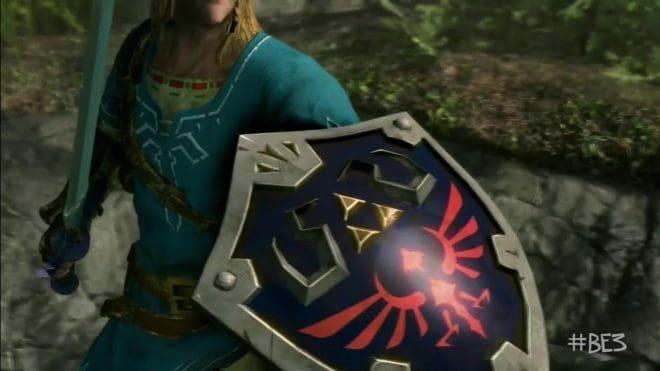 Link dans Skyrim sur Nintendo Switch, la surprise de la conférence Bethesda de l'E3 2017.