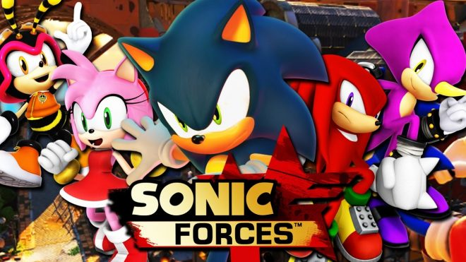 Sonic Forces et ses méchants à l'E3 2017.