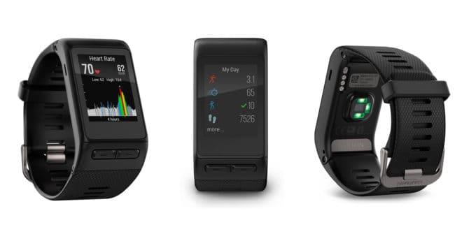 Après les gammes Vívofit, Vívomove etVívosmart, Garmin présentait l'année dernière une montre GPS cardio, laGarmin Vívoactive HR. La fréquence cardiaque en un coup d'œil Grâce à son GPS et son étanchéité (50 mètres), il est possible de pratiquer tous les sports avec la montre Garmin Vívoactive HR. Gardez un oeil sur votre fréquence cardiaque et […]