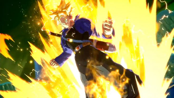Trunks annoncé dans Dragon Ball Fighter Z à l'EVO 2017.