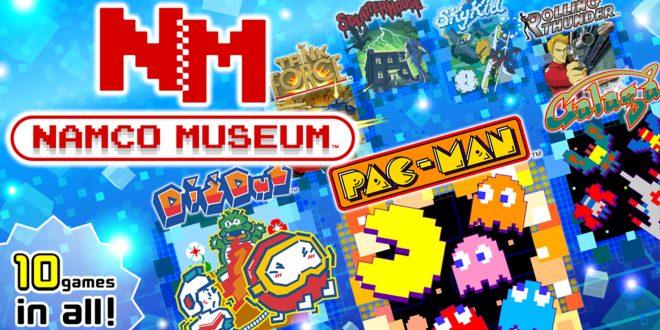 Namco Muséum est disponible sur Nintendo Switch.
