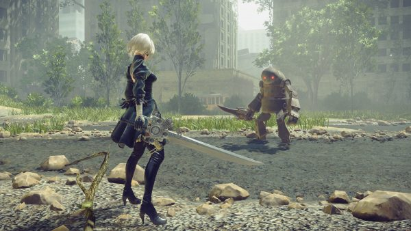 Le patch PC de NieR Automata prend son temps.