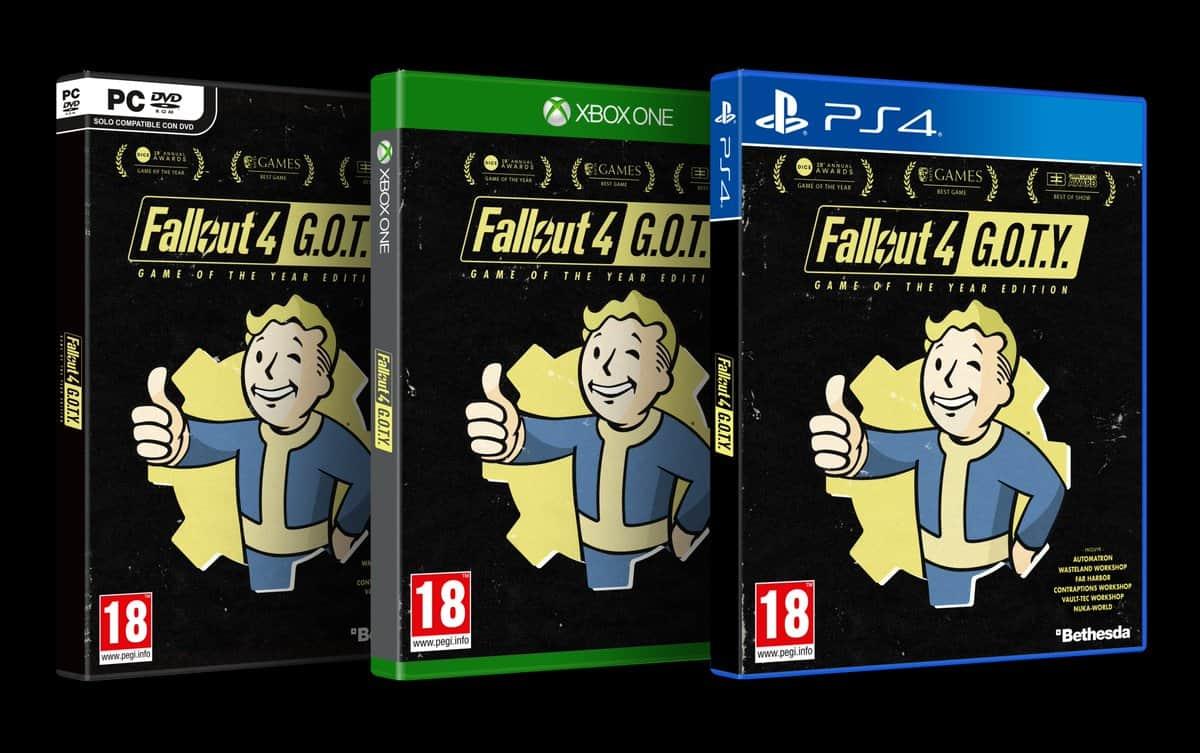 Fallout 4 : une édition Game of the Year est annoncée