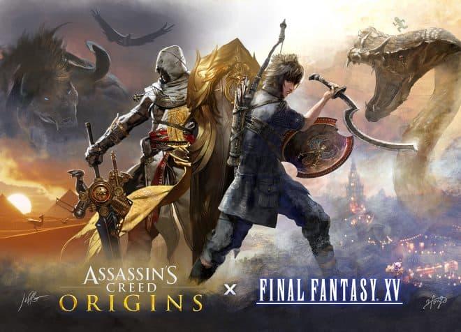 Final Fantasy 15 proposera un festival rendant hommage aux Assassins d'Ubisoft.