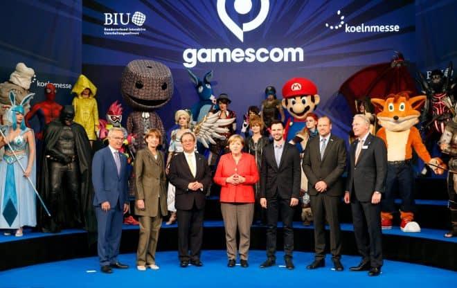 Un nouveau record de fréquentation pour la Gamescom 2017.
