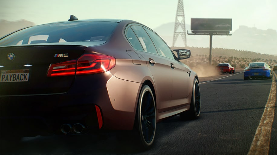 gamescom 2017 need for speed payback s 39 offre la bmw m5. Black Bedroom Furniture Sets. Home Design Ideas