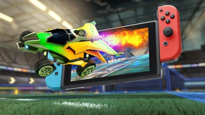Rocket League sur Switch se montre dans une nouvelle vidéo à la Gamescom 2017.