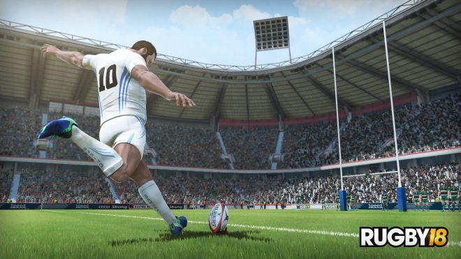 Les coulisses de l'enregistrement des commentaires de Rugby 18 en vidéo.